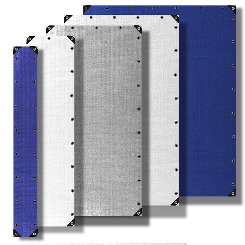 Wasserfeste reißfeste PE Abdeckplanen 180 g//m² weiß 6x10 m mit Edelstahlösen