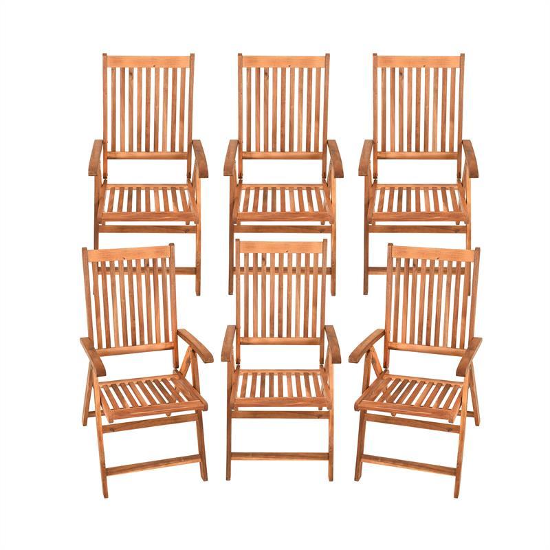 Garten Sitzgruppe Holz Massiv 6 1 Gartenmobel Set Gartentisch Oval