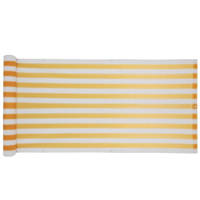 Balkon-Sichtschutz-Bespannung-Terrasse-6-m-Balkonverkleidung-Sonnen-Wind-Schutz Indexbild 19