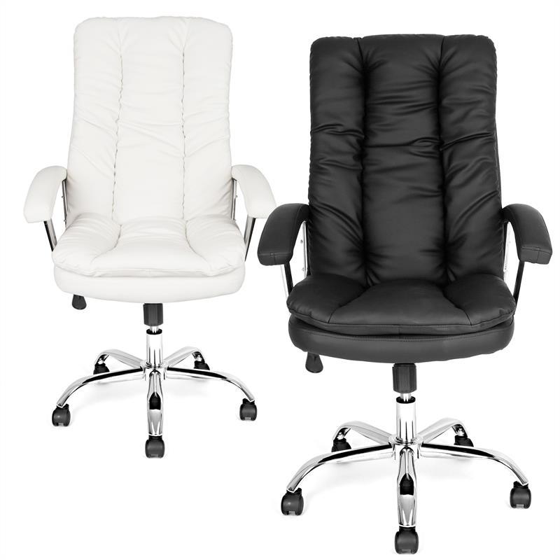 b rostuhl drehstuhl schreibtischstuhl b rosessel chefsessel dicke polsterung ebay. Black Bedroom Furniture Sets. Home Design Ideas