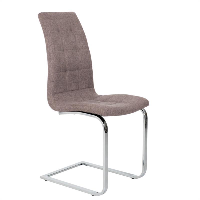 esszimmerst hle freischwinger stoff stuhlgruppe schwingstuhl essst hle 2er set ebay. Black Bedroom Furniture Sets. Home Design Ideas