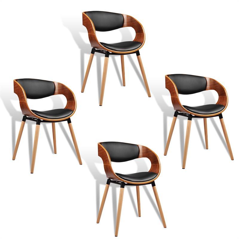 Retro Stühle Esszimmerstühle Designer Stühle Kunstleder