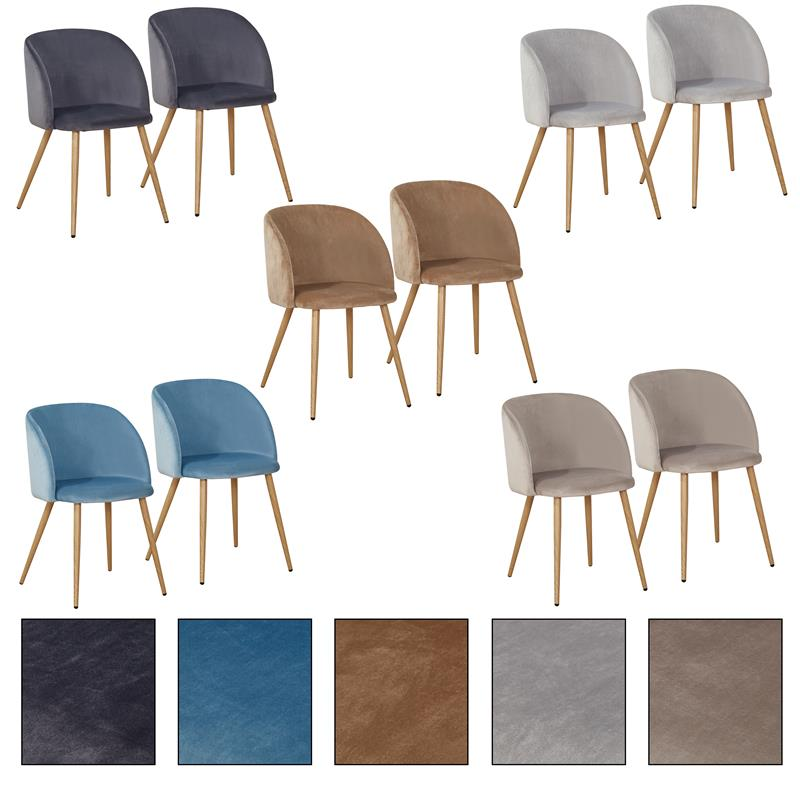 2/4/6/8x Retro Esszimmerstuhl Set Stühle Stuhl Stuhlgruppe ...