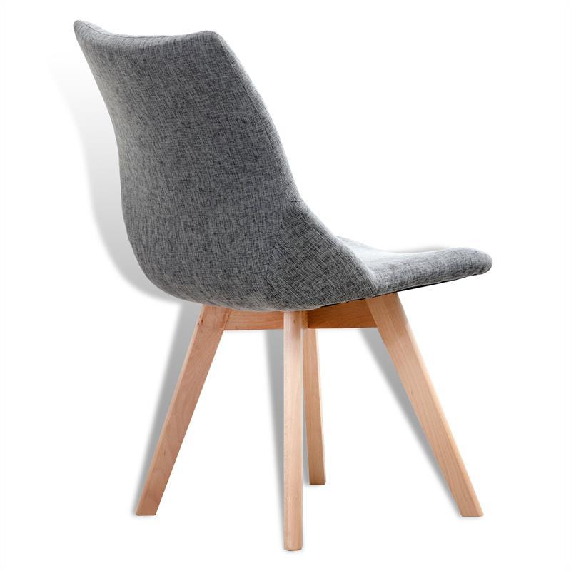 esszimmerst hle st hle esszimmer designer st hle retro k chenst hle ubbo grau 2x ebay. Black Bedroom Furniture Sets. Home Design Ideas