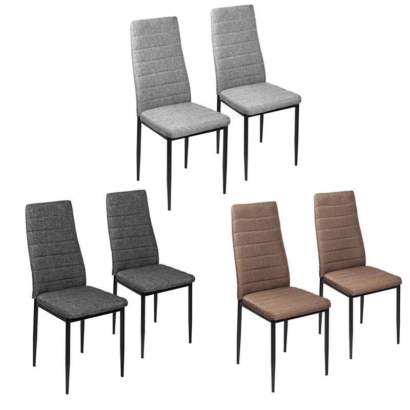 2 4 6 8x esszimmerst hle stuhl hochlehner stuhlgruppe esszimmerstuhl k chenstuhl ebay. Black Bedroom Furniture Sets. Home Design Ideas