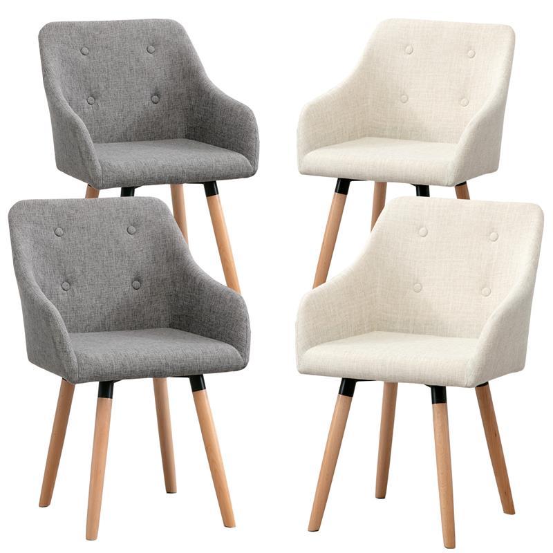 2 4 6 8x st hle vintage esszimmerstuhl k chenstuhl esszimmerst hle stoffbezug ebay. Black Bedroom Furniture Sets. Home Design Ideas