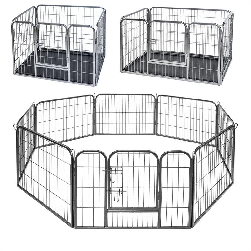 welpenauslauf welpen freigehege laufgitter welpenzaun welpengitter hundeauslauf ebay. Black Bedroom Furniture Sets. Home Design Ideas