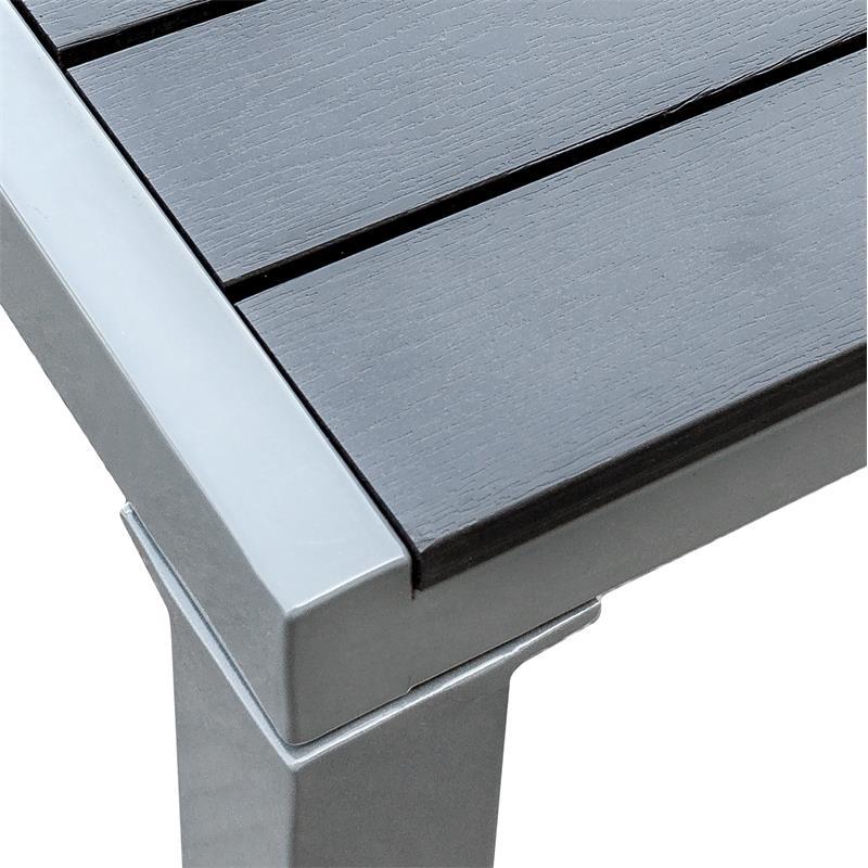 Lieblings Gartentisch Balkontisch Tisch WPC Alu Terrassentisch Esstisch @VM_72
