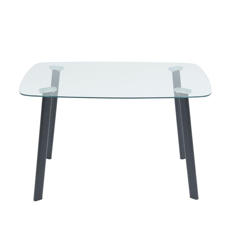 Schreibtisch Glastisch Küchentisch 120x70 cm Esszimmertisch Glas Tisch Esstisch