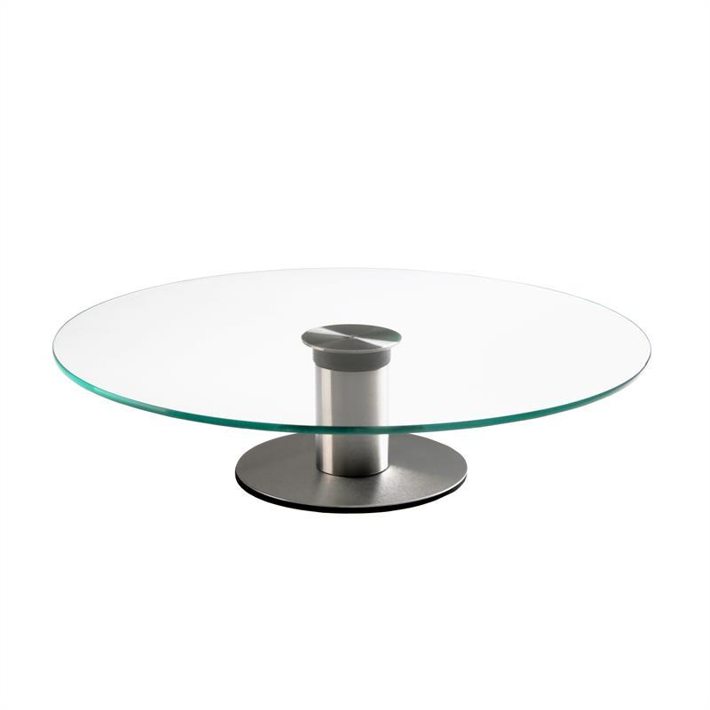 kuchenplatte tortenplatte drehbar 30 cm glasplatte tortenst nder servierplatte ebay. Black Bedroom Furniture Sets. Home Design Ideas