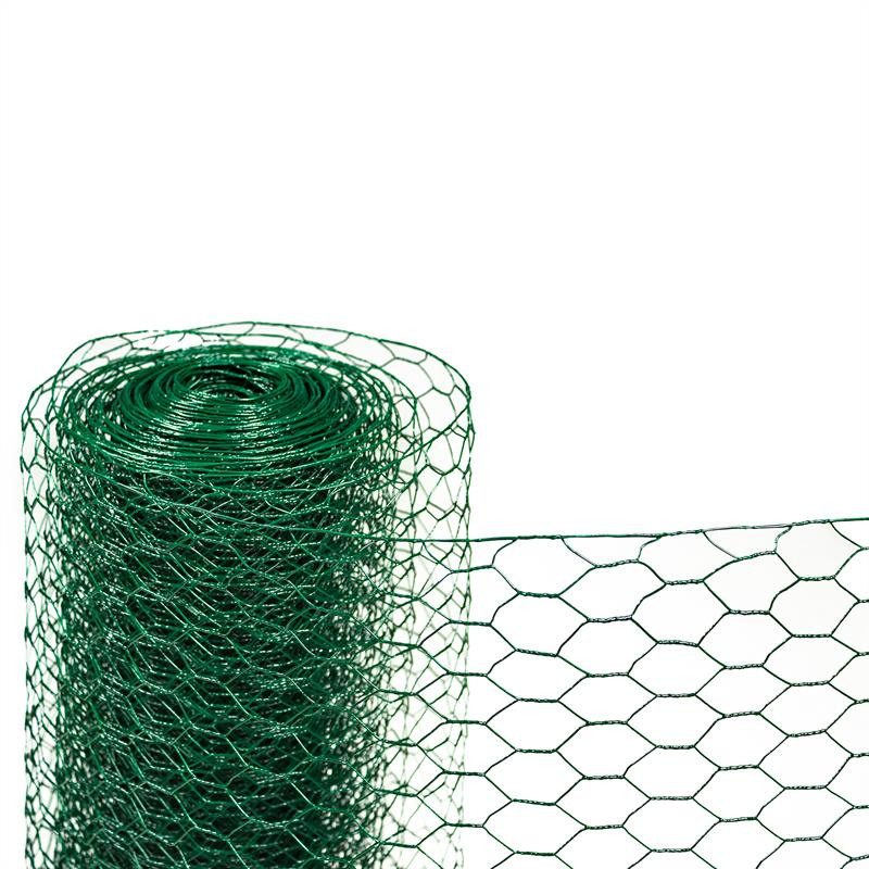 Sechseckgeflecht 1,2 m x 25 m grün Hasendraht Kaninchendraht Maschendraht Zaun