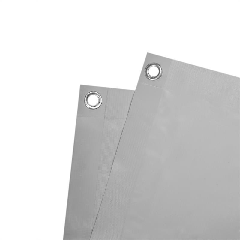 Balkon Sichtschutz Balkonverkleidung 75 x 600 cm PVC anthrazit blickdicht