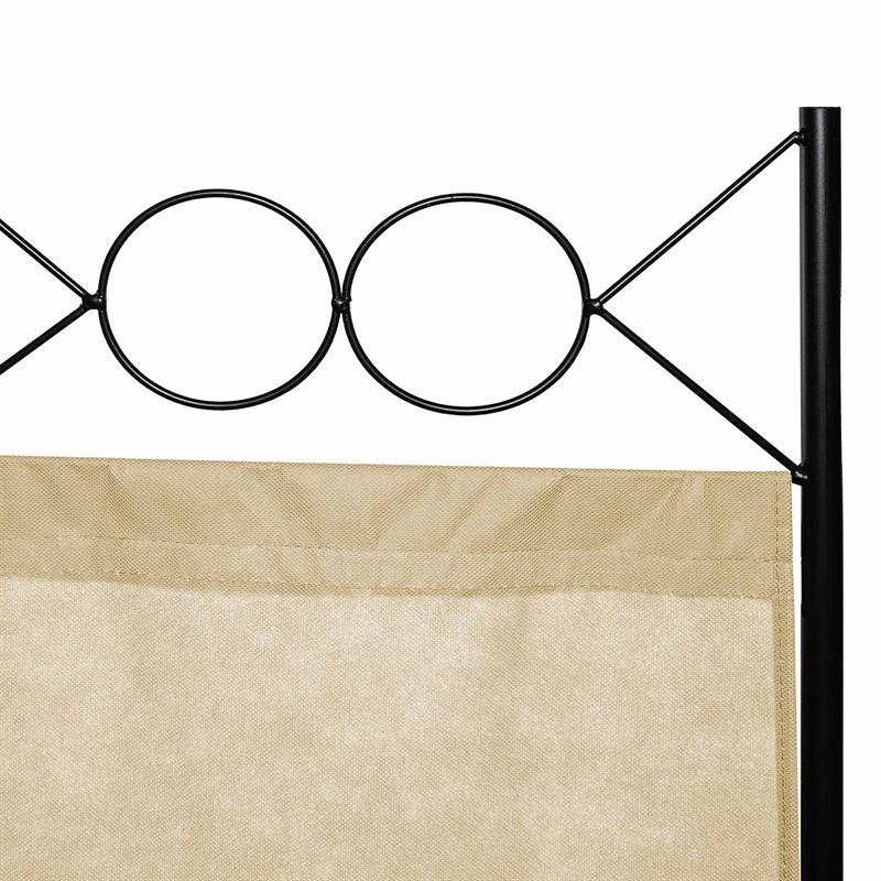 Paravent-Raumtrenner-Raumteiler-Trennwand-Umkleide-Sichtschutz-Spanische-Wand Indexbild 33