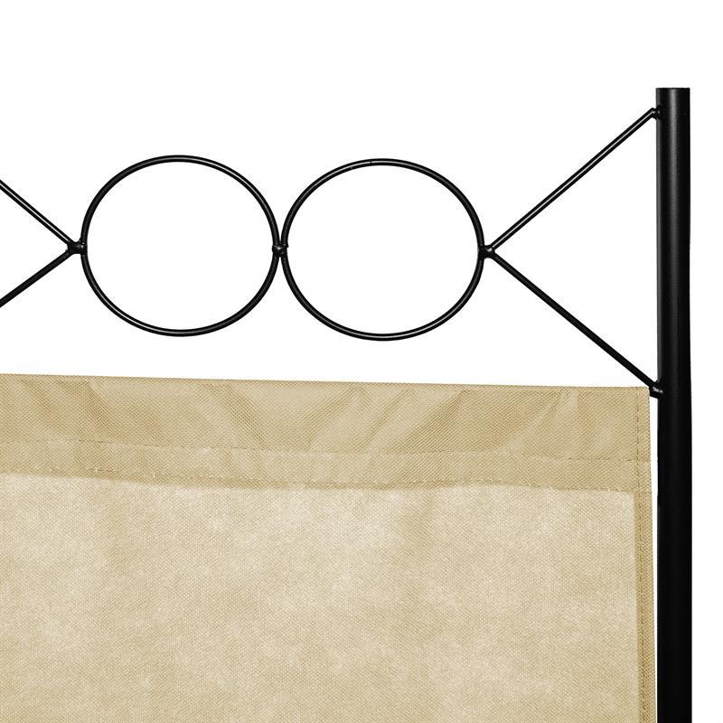 Paravent-Raumtrenner-Raumteiler-Trennwand-Umkleide-Sichtschutz-Spanische-Wand Indexbild 37