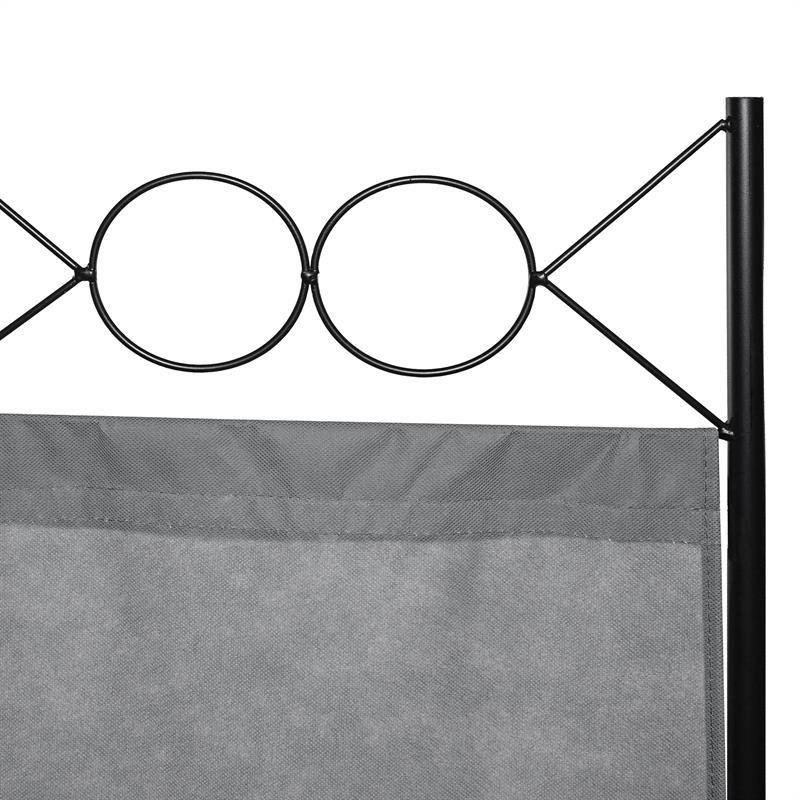 Paravent-Raumtrenner-Raumteiler-Trennwand-Umkleide-Sichtschutz-Spanische-Wand Indexbild 14