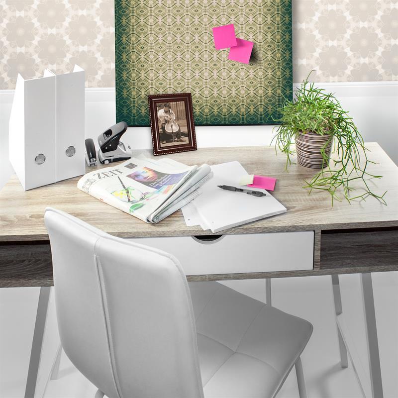 schreibtisch wei sonoma eiche computertisch arbeitstisch sekret r b rotisch ebay. Black Bedroom Furniture Sets. Home Design Ideas