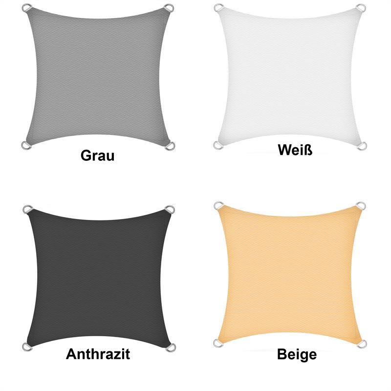 sonnenschutzsegel schattenspender sonnensegel sonnenschutz uv schutz hdpe ebay. Black Bedroom Furniture Sets. Home Design Ideas