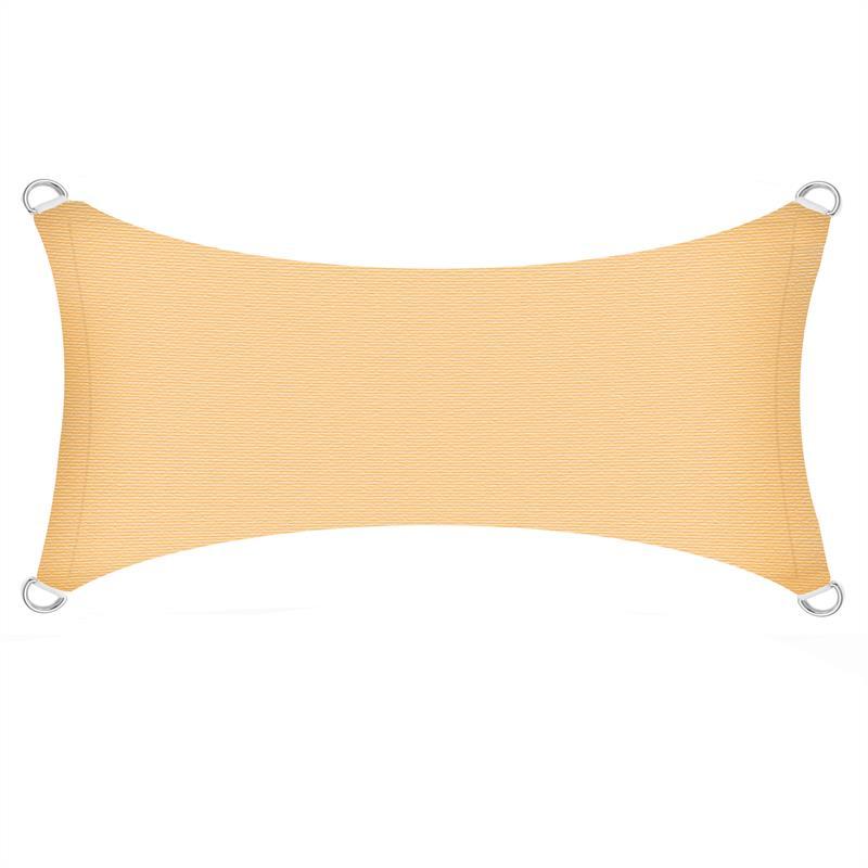 Sonnenschutzsegel-Schattenspender-Sonnensegel-Sonnenschutz-UV-Schutz-HDPE miniature 13