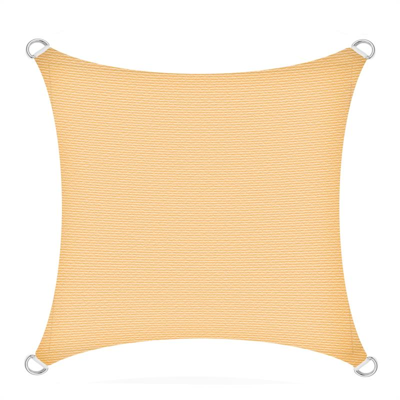 Sonnenschutzsegel-Schattenspender-Sonnensegel-Sonnenschutz-UV-Schutz-HDPE miniature 14