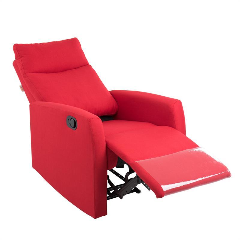 Indexbild 44 - Relaxsessel Fernsehsessel Polster Sessel Liegefunktion Ruhe Liegestuhl TV Stoff