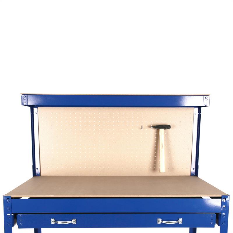 werkbank arbeitstisch werktisch arbeitsplatte 120x60x150. Black Bedroom Furniture Sets. Home Design Ideas